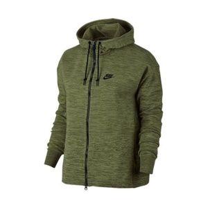 Nike Sportswear Tech Knit Jacket Palm Green Black
